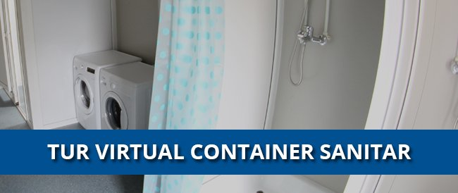 tur virtual container sanitar